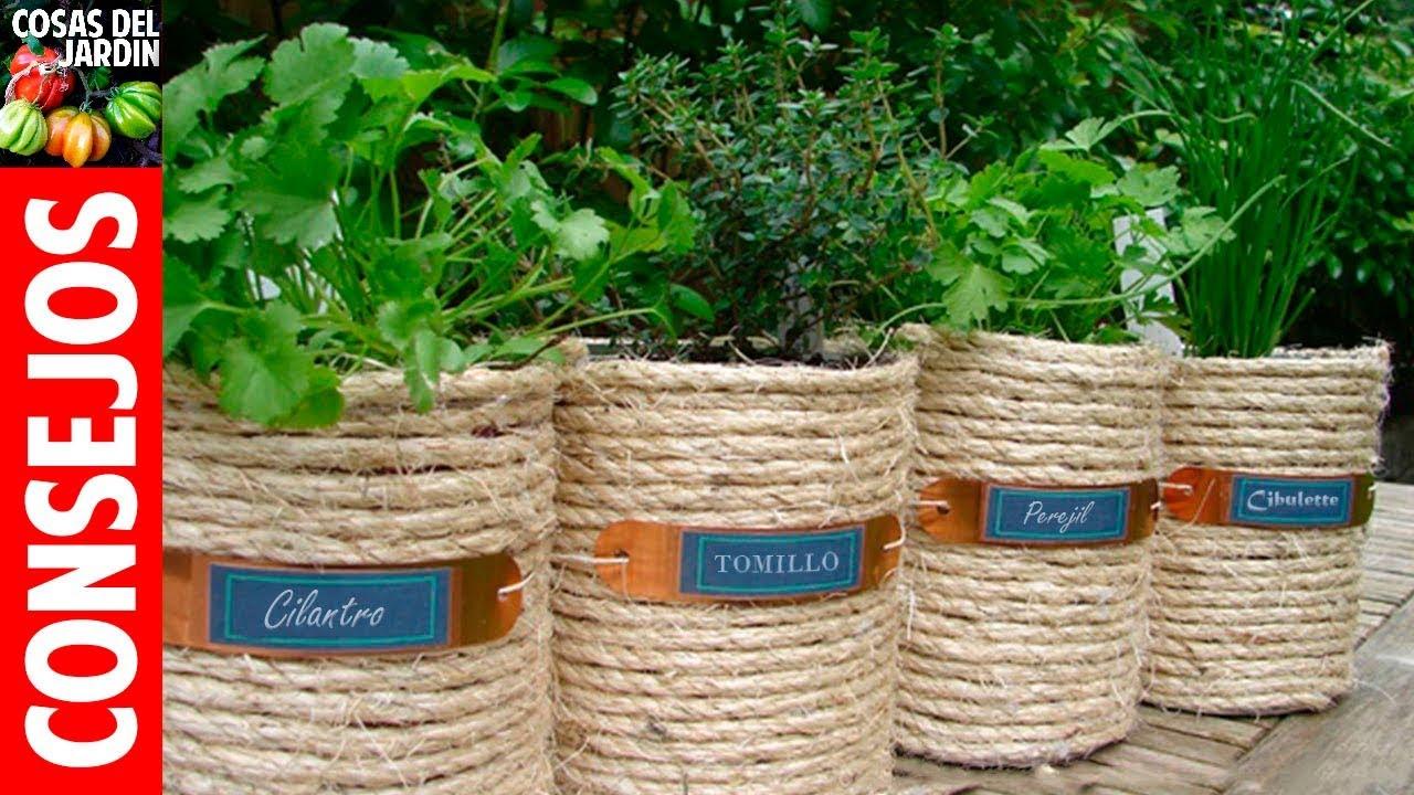 Con hacer bien estas 10 cosas, te puedo asegurar un cultivo de hierbas aromáticas que te dará gran satisfacción. Sigue leyendo para conocerlos #Jardineria #Jardin #Huerto #Huertourbano