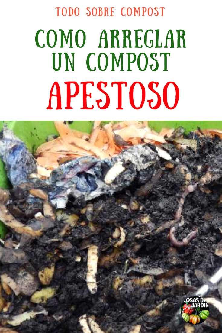 Para que una pila de compost no tenga olores es necesario cierto cuidado en la eleccion de los materiales que vamos a agregar. sigue leyendo para aprender a tener un compost sin olores #Huerto #Huertourbano #Jardín #Jardinería #Cultivar